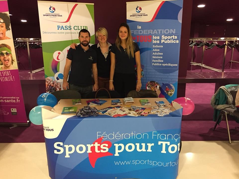 CR Sports pour Tous Grand Est aux 2eme assises européennes du Sport-Santé sur Ordonnance