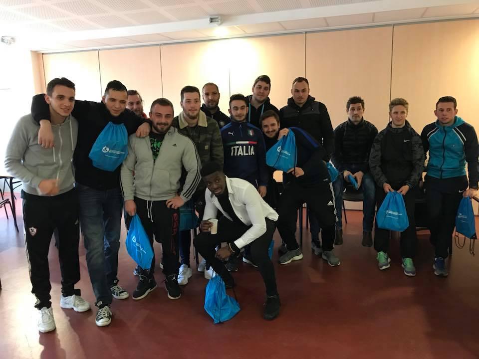 Dernier jour de la formation BP JEPS APT 2017 réalisée à Bazeilles (08)