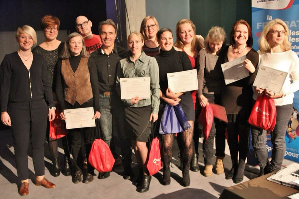 Les nouveaux diplômés Sports Pour Tous session 2016/2017 du Bas-Rhin