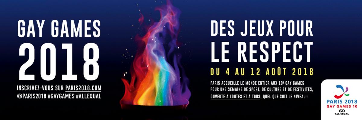 Les mondiaux de la diversité: 10ème édition des GAY GAMES