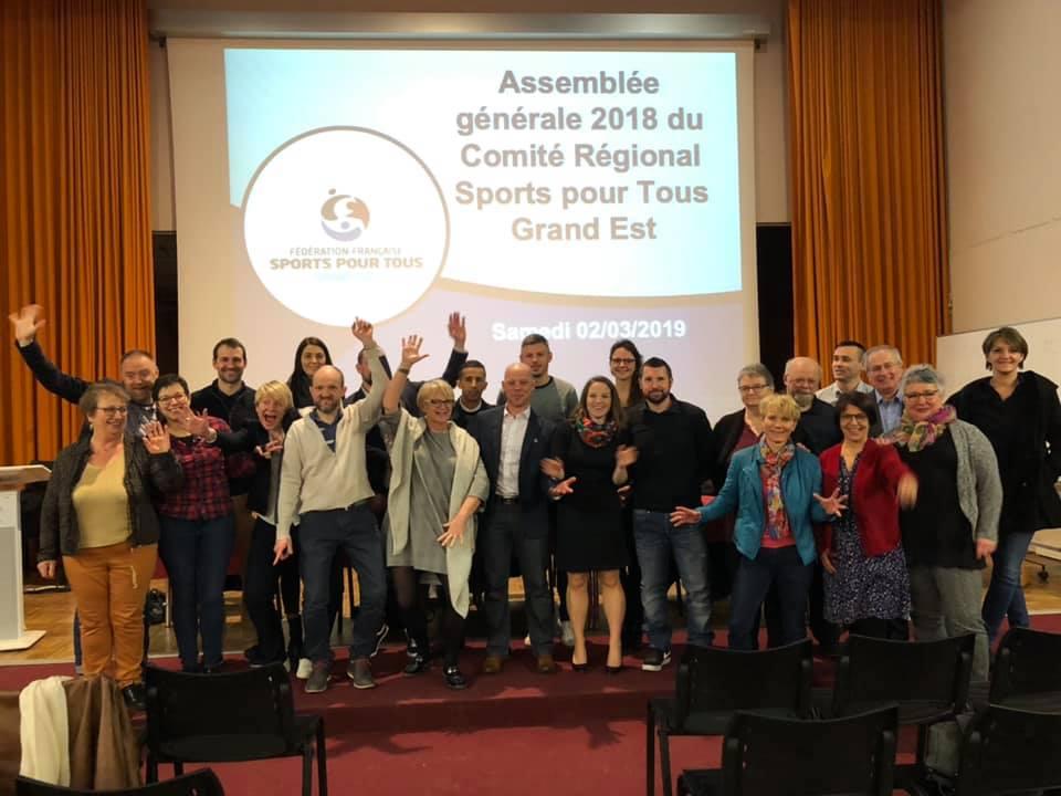 Assemblée Générale du Comité Régional Sports pour Tous Grand Est