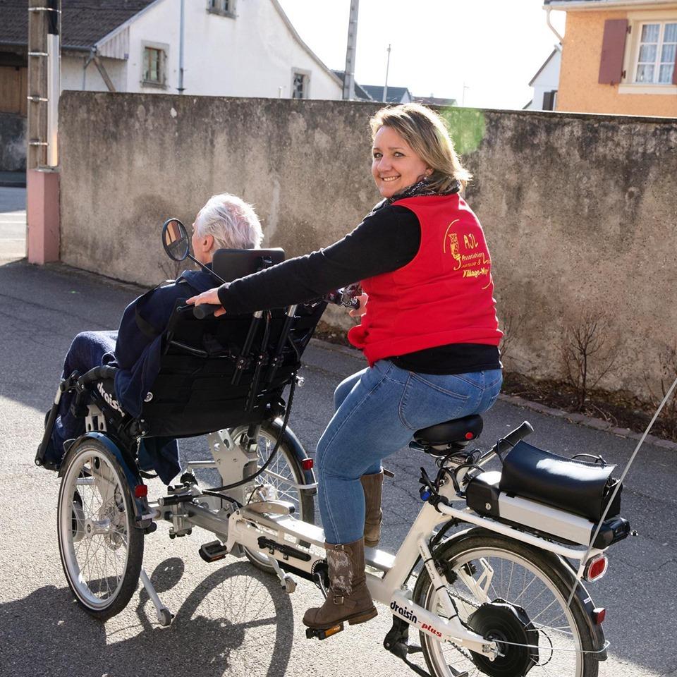 L'activité vélo adapté dans le Grand Est