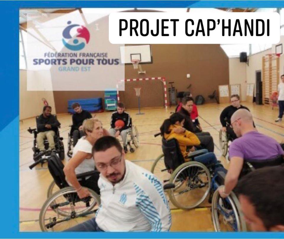 Le projet CAP' HANDI au Comité Régional Sports pour Tous Grand Est