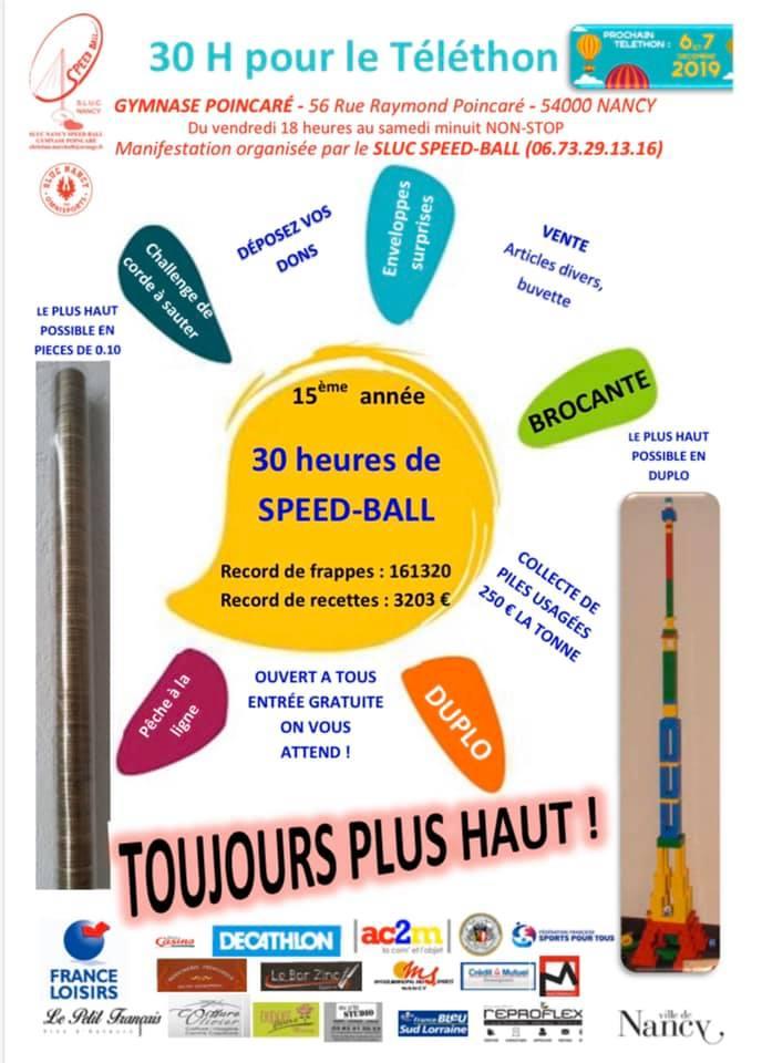 Le Téléthon dans les clubs du CR Sports pour Tous GE (Lorraine)