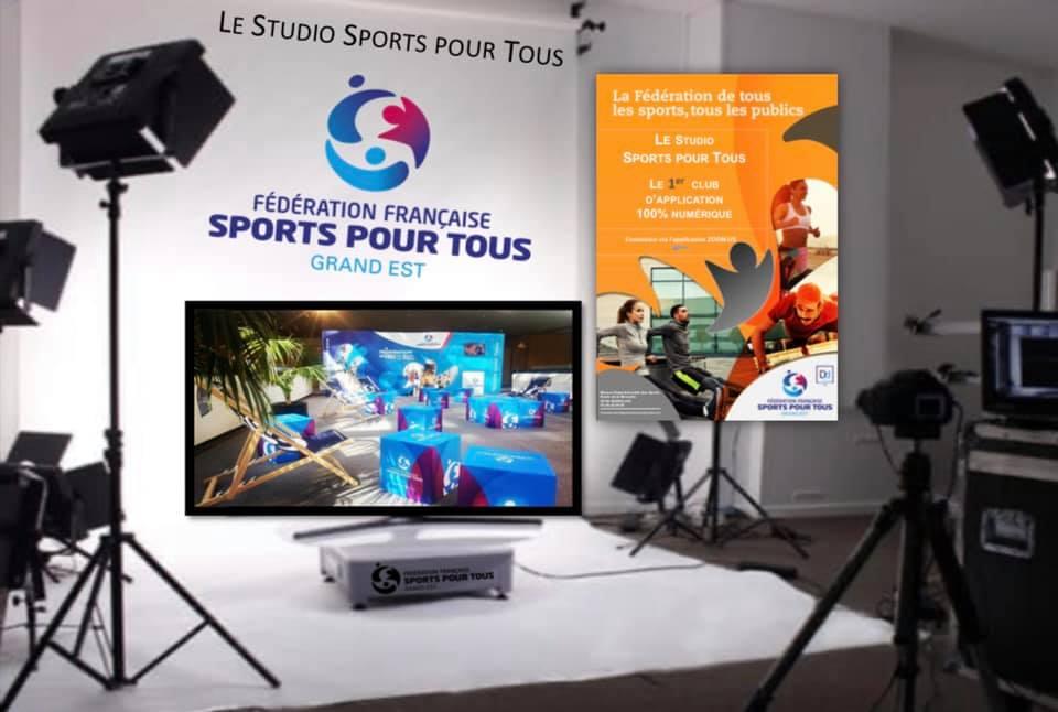 """Et le CR SPT GE créa """"Studio Sports pour Tous""""…"""