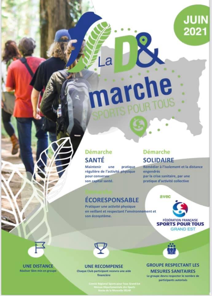 D&marche: une initiative du CR Sports pour Tous GE